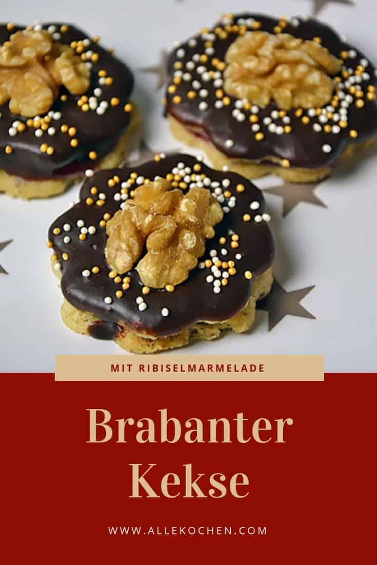 Rezept für Brabanter Kekse zum Backen zu Weihnachten