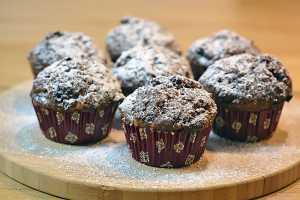 Schoko Bananen Muffins sind einfach zu backen