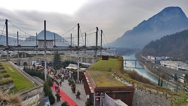 Der Weihnachtsmarkt auf der Festung Kufstein