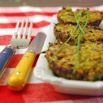 Ein einfaches Rezept um schnelle Zucchini Muffins backen.