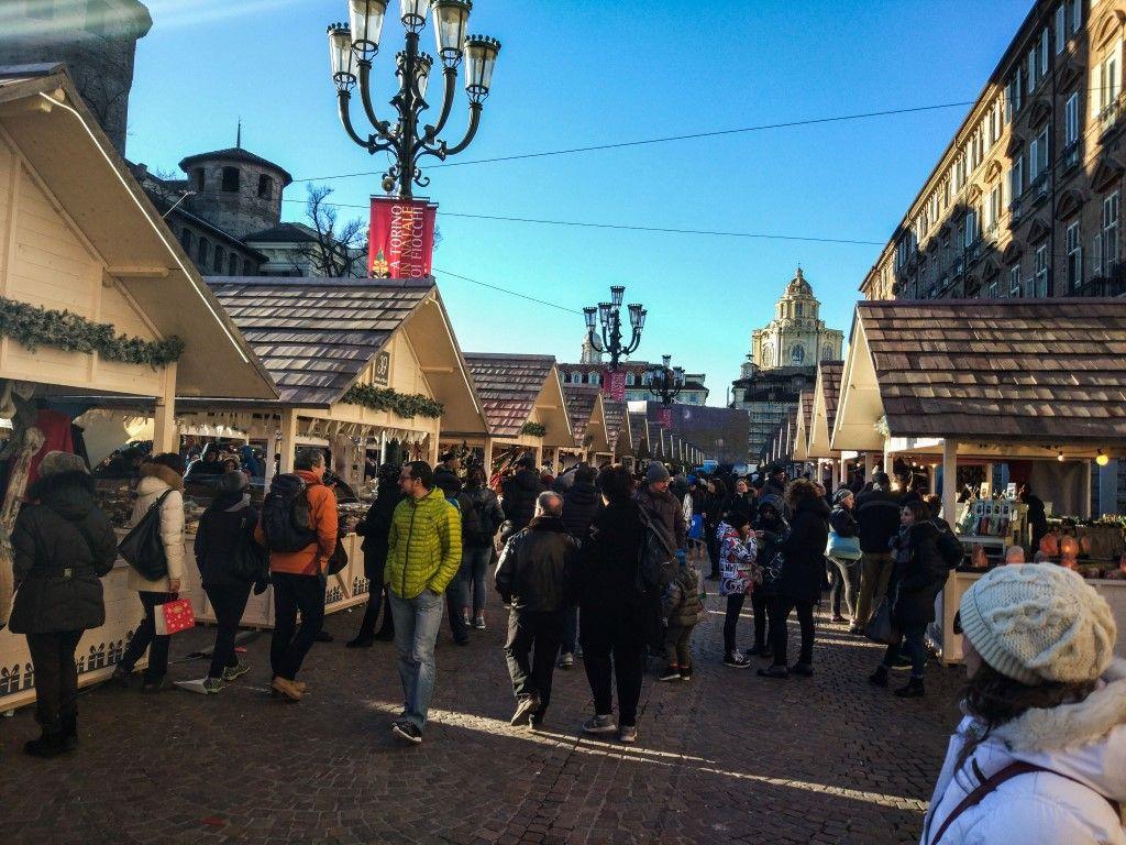 mercatini di Natale a Torino - Piazza castello