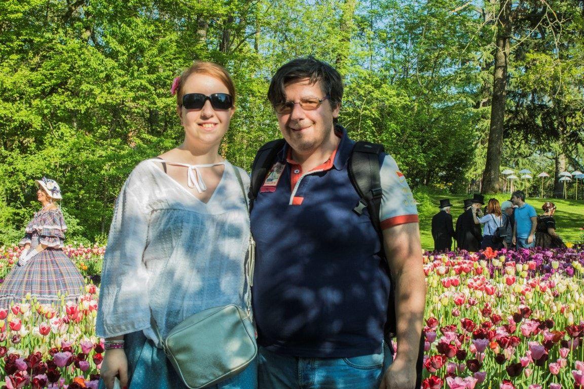 Gli Allemandich e i tulipani