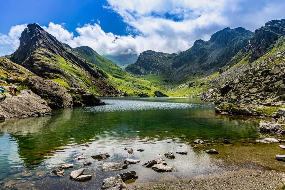 Foto del lago Fiorenza Post Prodotta