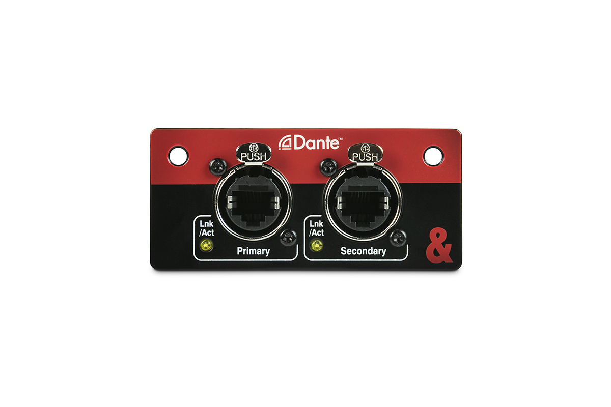 Allen & Heath Ships 96kHz Dante Card for SQ - Sound Forums
