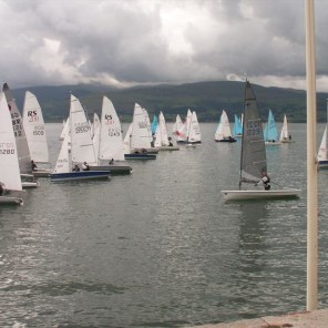 Anglesey offshroe dinghy race