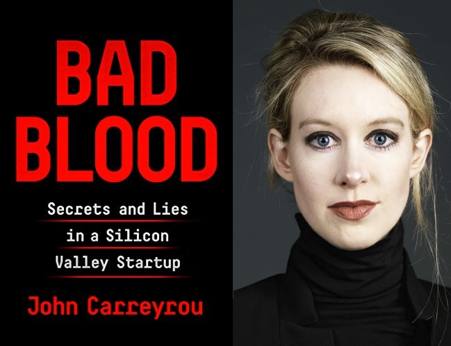 Image result for bad blood book