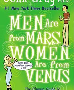 #1 Book Summary: Men are from Mars, Women are from Venus, by John Gray