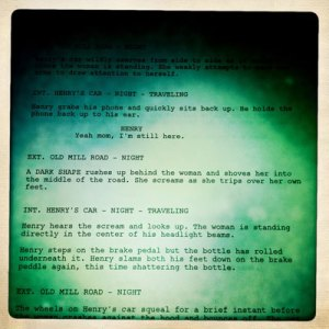 Old Mill Road - The old screenplay