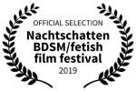 OFFICIAL SELECTION Nachtshatten BDSM/Fetish Festival 2019