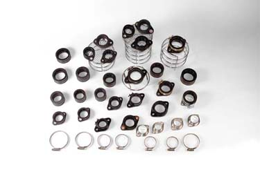 Selection of Carburettor Mounting Rubbers and clips - Sleeve Rubbers and Plate Manifolds