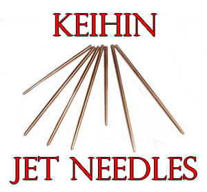 Button to Take the user to dimensions and data on Keihin Carb Carburettor Jet Needles