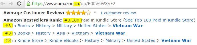 Canada bestseller list
