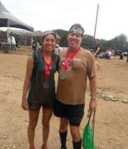Some days it is not about writing: Our first Spartan Sprint!