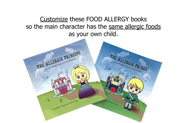 Books for Kids with Food Allergies - ALLERGIC PRINCESS ...