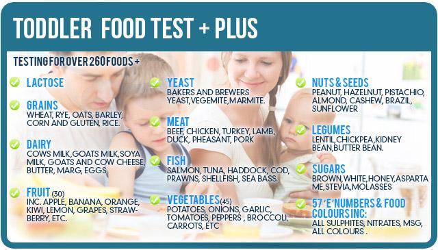 Food Allergy Rash Toddler allergy & food intolerance testing