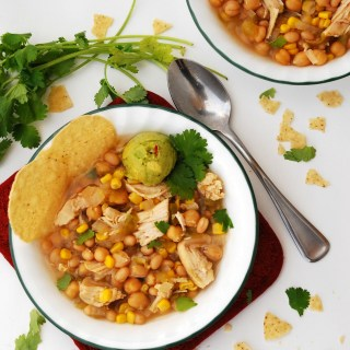 Slow Cooker White Chicken Chili (GF, DF, Egg, Soy, Peanut/Tree nut Free, Top 8 Free) copyrighted by Allergy Awesomeness