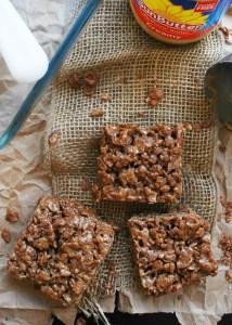 Inside Out Scotcheroos (Gluten, dairy, egg, soy, peanut & tree nut free; top 8 free; vegan) Recipe by AllergyAwesomeness.com