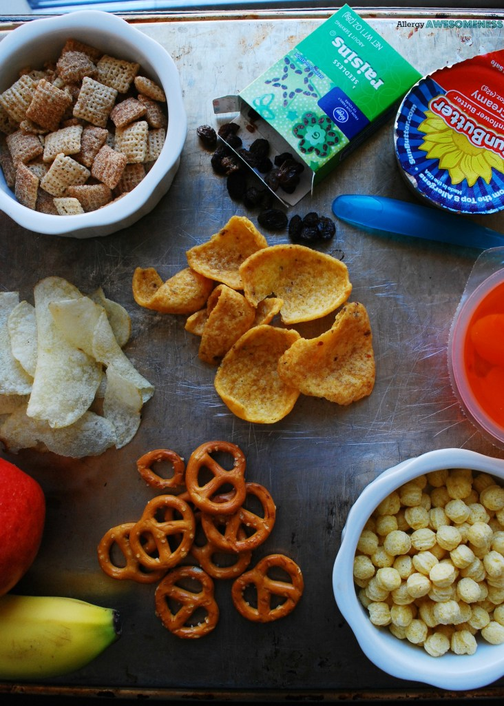 List of allergy friendly snacks for school