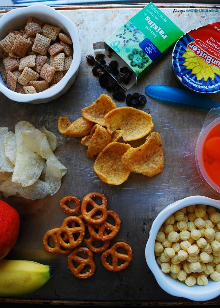 List of allergy friendly snacks for school