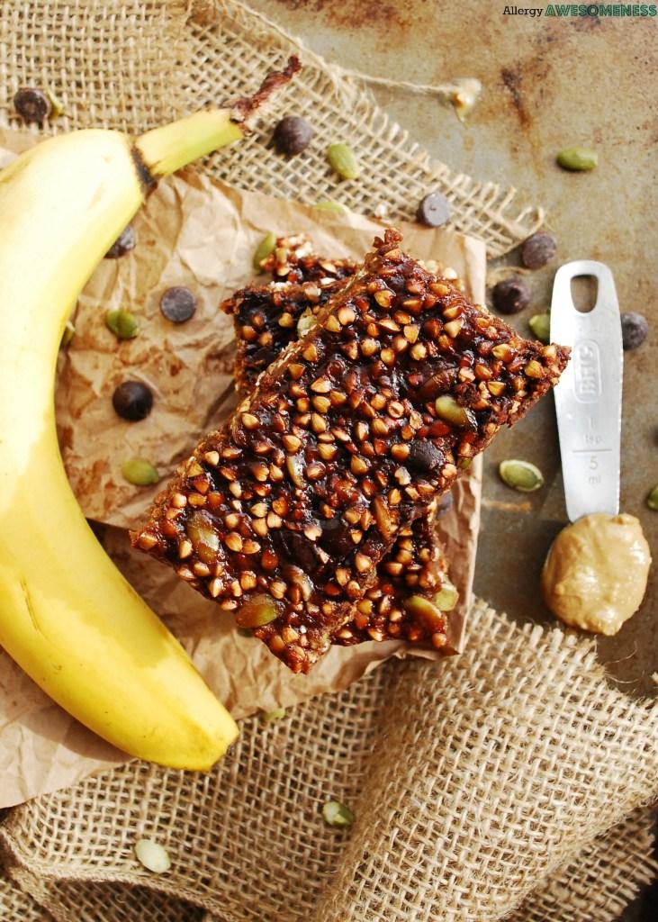 Nut-free gluten-free granola bars by AllergyAwesomeness