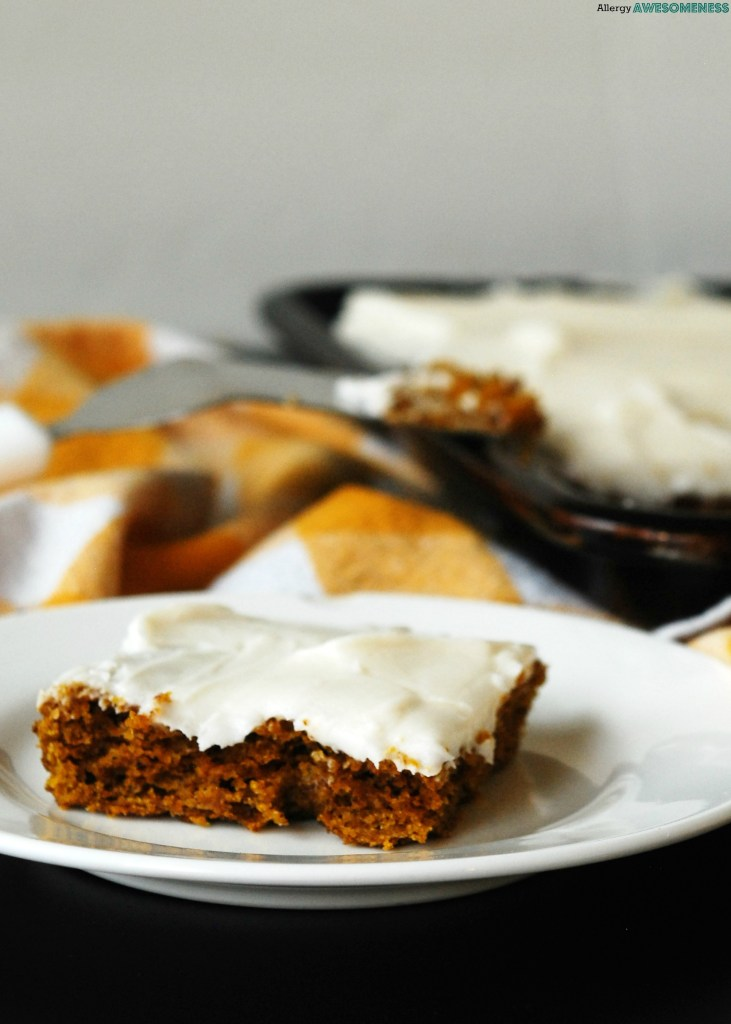 Gluten-free carrot sheet cake