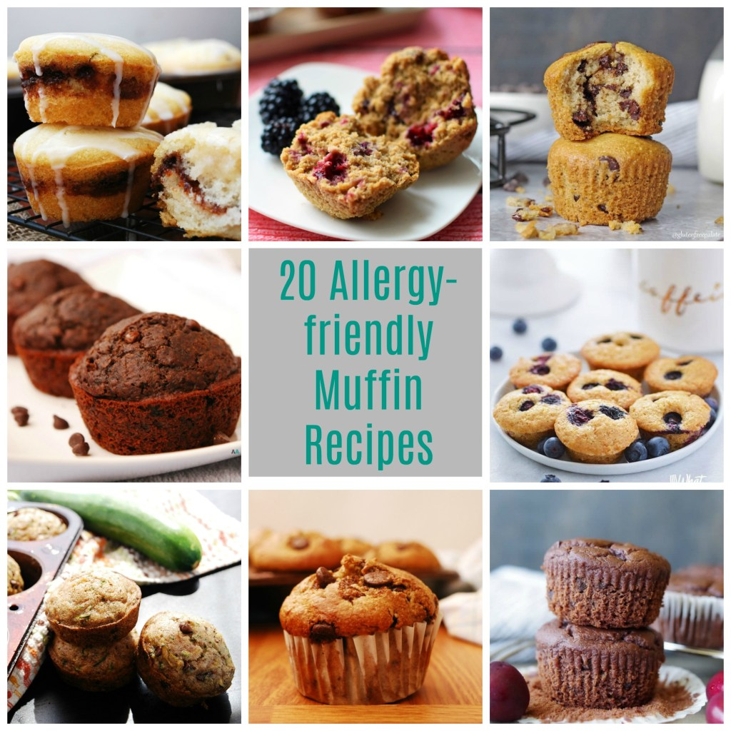 20 Allergy-friendly Muffin Recipes