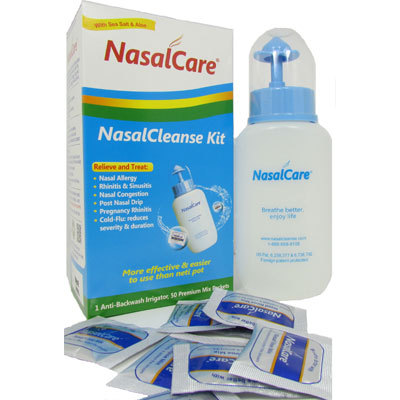NasalCare Nasal Rinse Starter Kit - Adult | Allergy Control Products