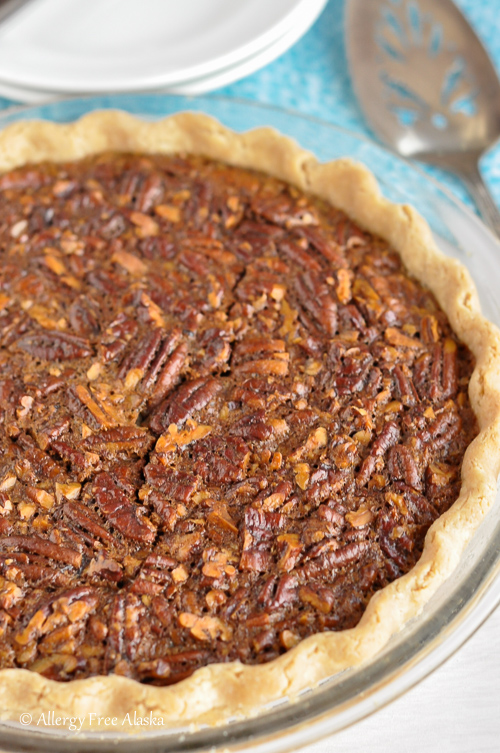 Gluten-Free Pecan Pie (Corn Syrup-Free, Refined Sugar-Free) | Allergy Free Alaska