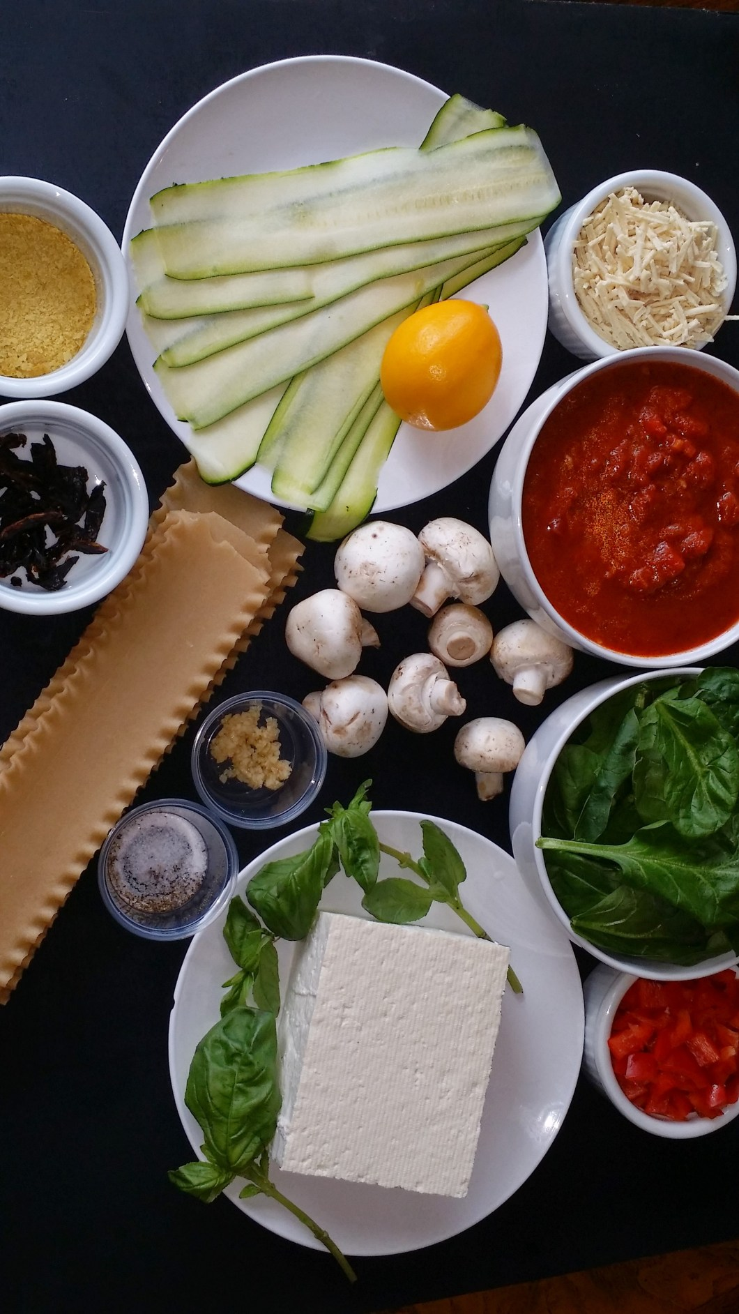 vegan and allergy safe lasagna