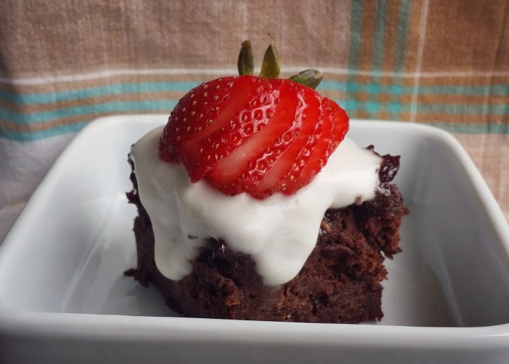 Decadent Chocolate Zucchini Cake with Coconut Whip