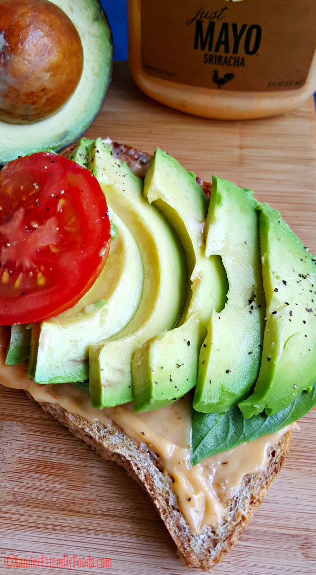 Avo Open Faced Sandwich