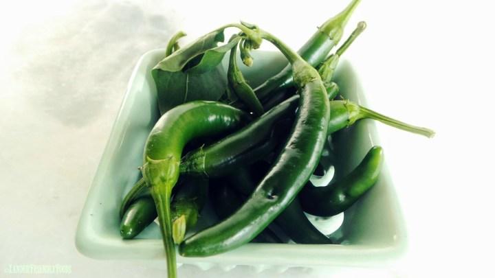 Garden Picked Serrano Peppers