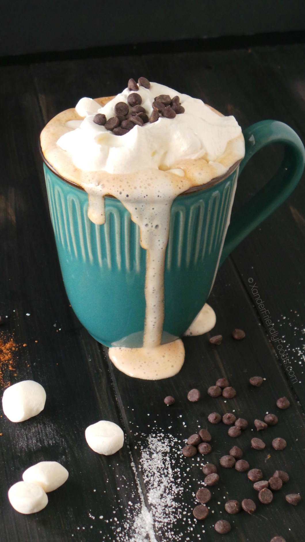 melted loaded cocoa