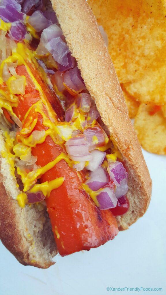 Kraut Carrot Dogs