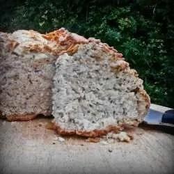 Vegan Garlic Soda Bread
