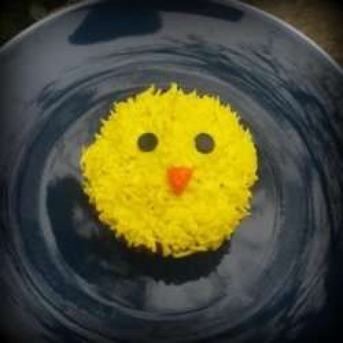Chick Easter Cupcake Decoration