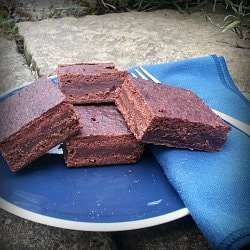 Vegan Fudgy Chocolate Brownies