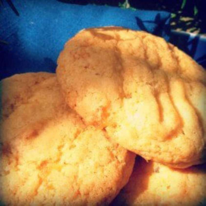 Vegan Crystallised Ginger Cookies
