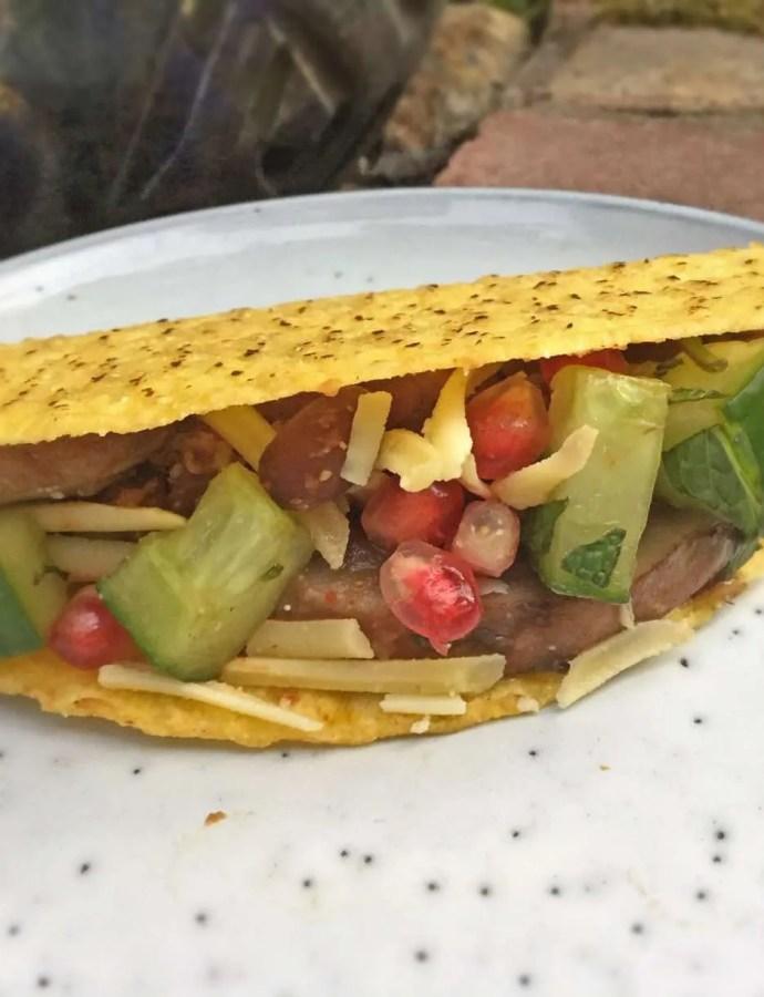 Vegan Tacos – Spicy Beans