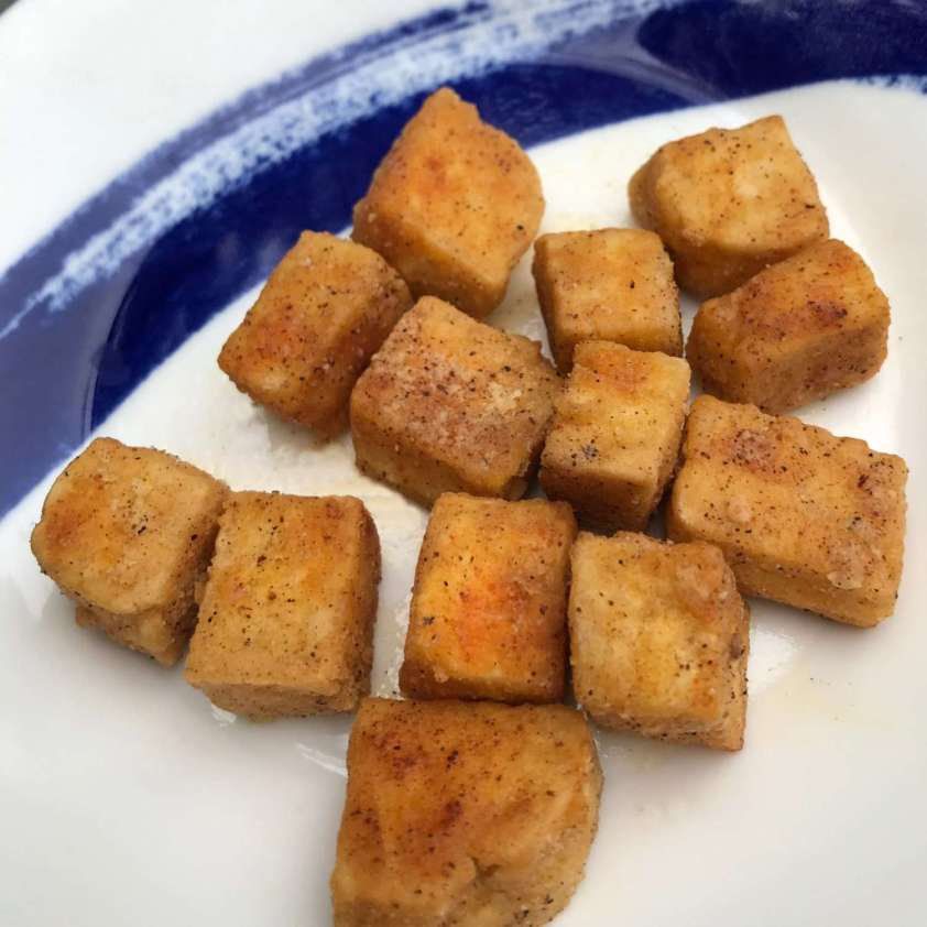 Fried Spicy Tofu
