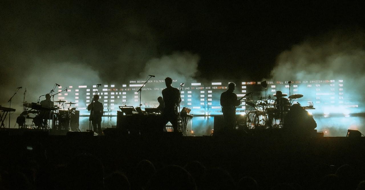 Massive Attack live auf dem Hurricane Festival 2010