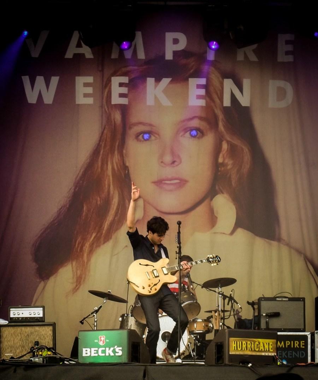 Vampire Weekend live auf dem Hurricane Festival 2010