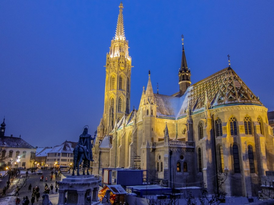 Budapest im Winter 2010