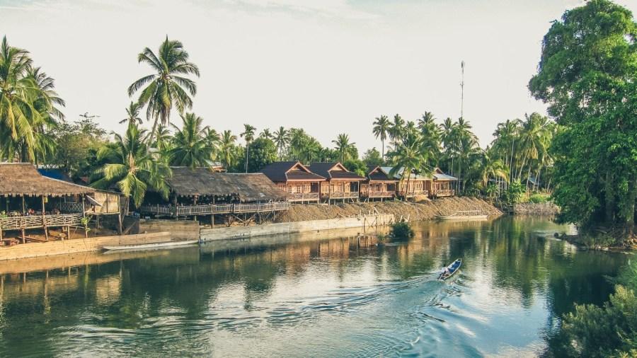 Don Det in Laos