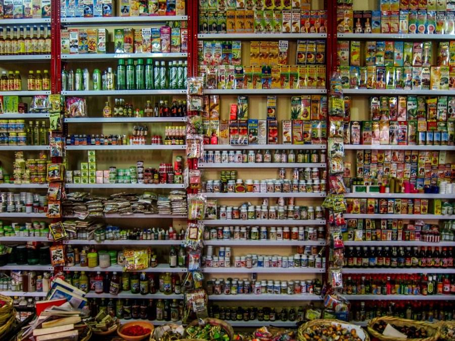 Bolivien-La-Paz-Supermarkt