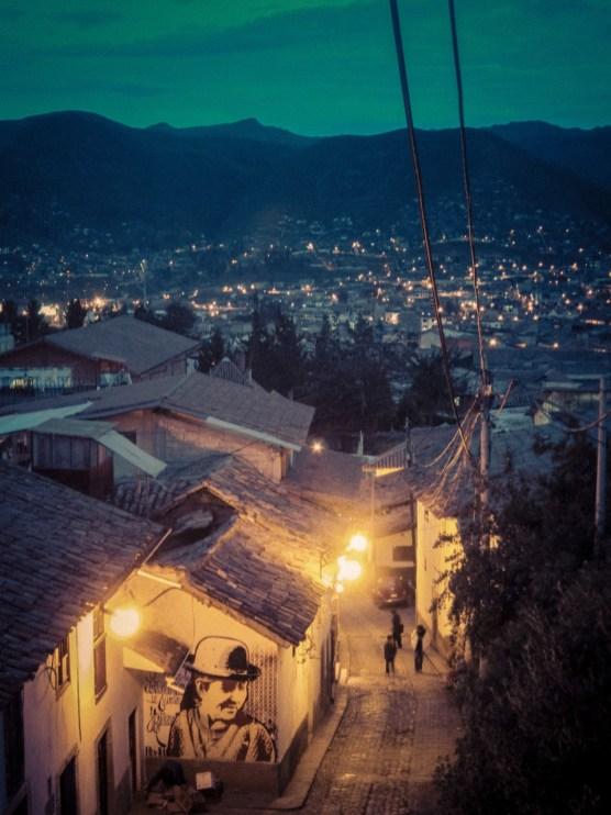 Straße in Cusco