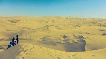 Huacachina Wüste