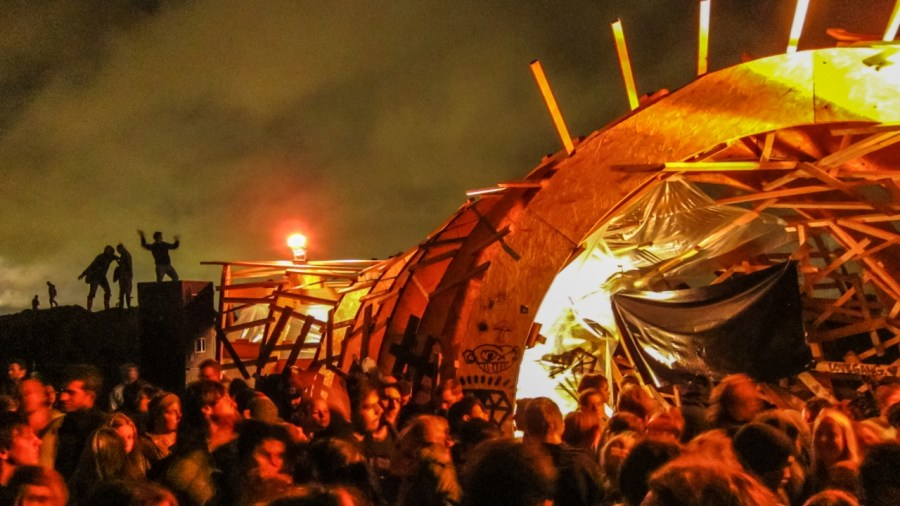 Das Horn auf dem MS Dockville Festival