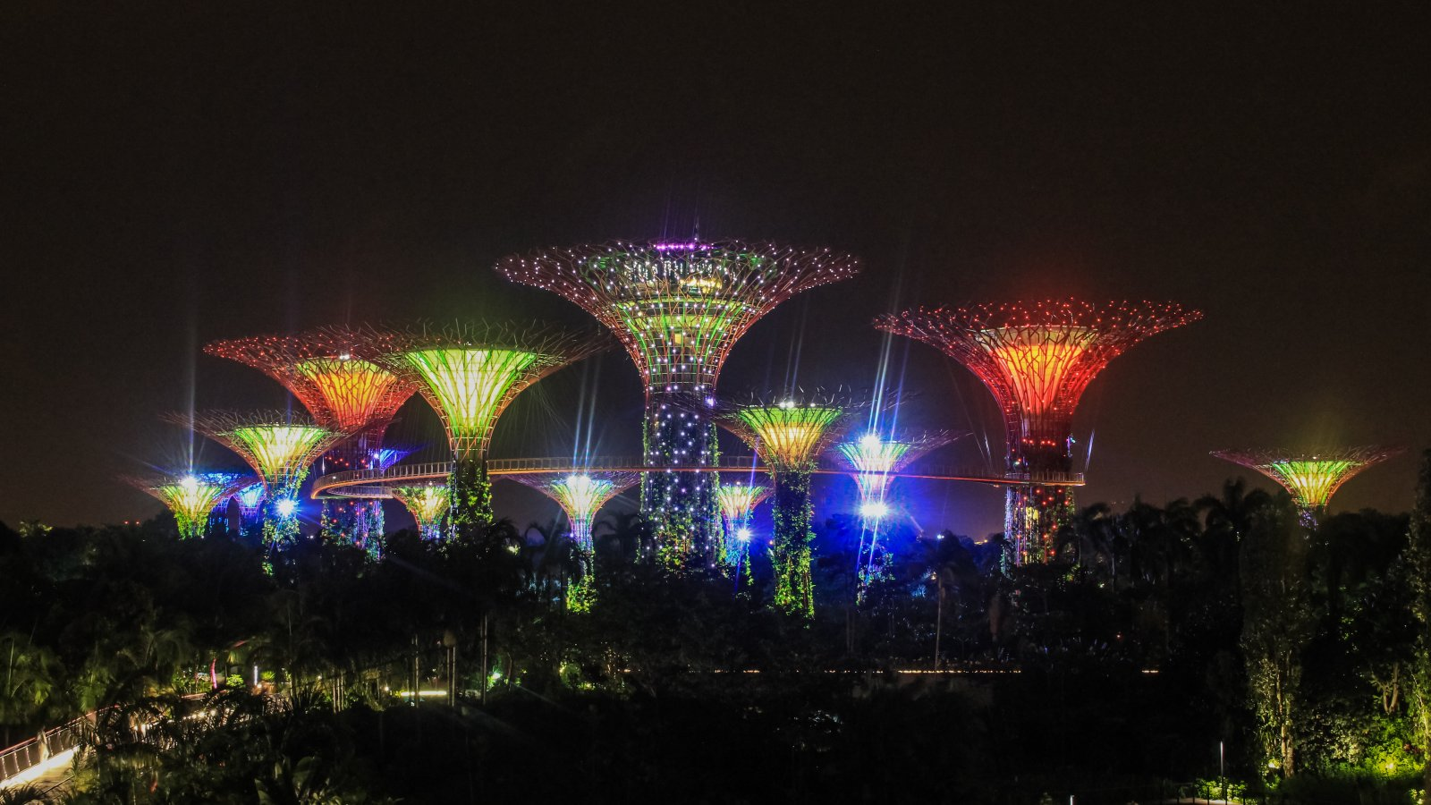 Gardens by the Bay in Singapur