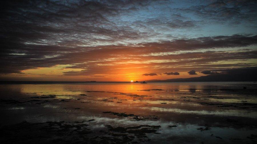 Sonnenuntergang in Siquijor